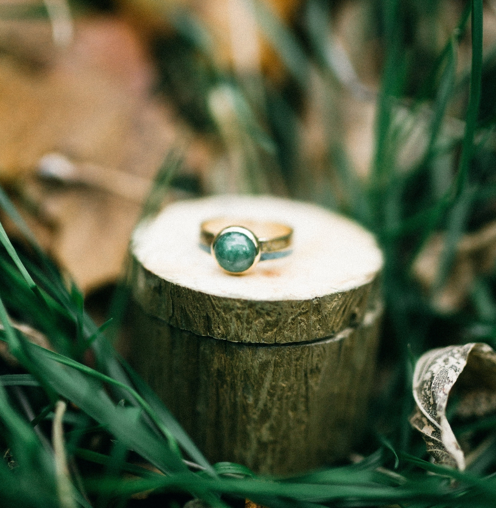 Jade Wedding Band