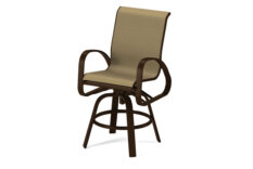 primera sling bar balcony height swivel arm chair hildreth s home goodshildreth s has the largest selection of indoor and outdoor furniture accessories the east end of long island ny we carry sofas