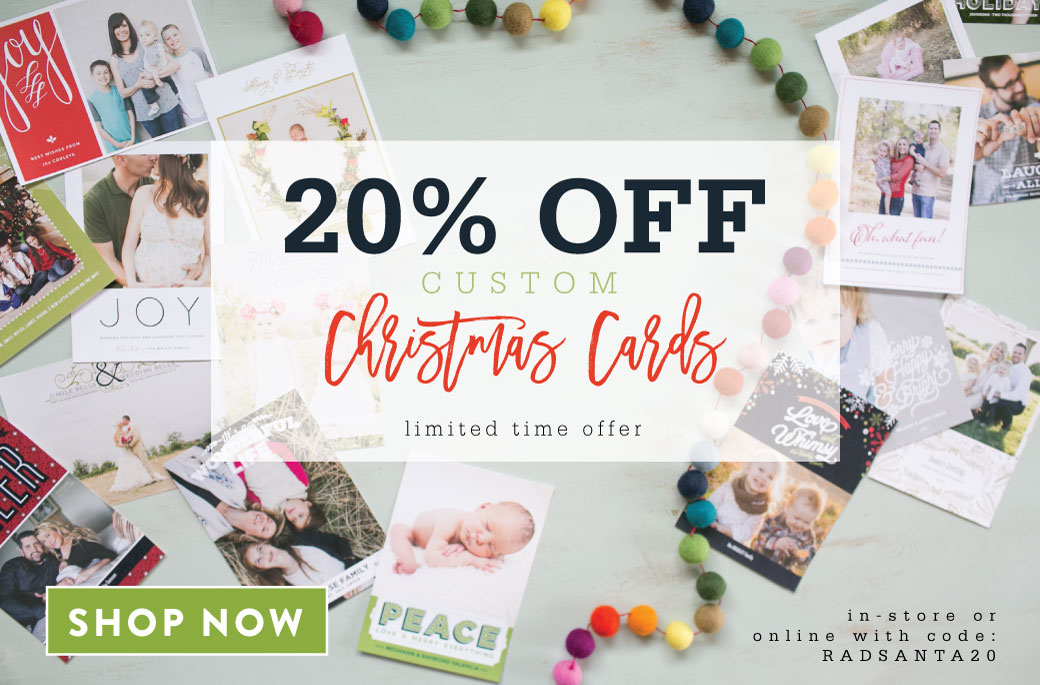 Shop Local For Custom Holiday Cards 2 3 Day Turnaround