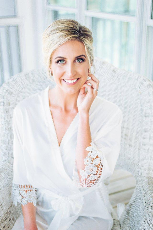 myrtle beach wedding hair & makeup — a lowcountry wedding