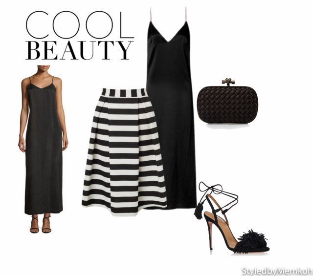 Dress: Rag & Bone | Skirt: Lipsy | Shoes: Aquazzura | Clutch: