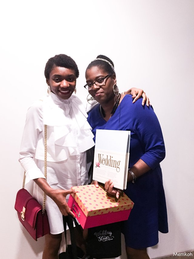 With the winner of our Memkoh Bridal Box :) More info here