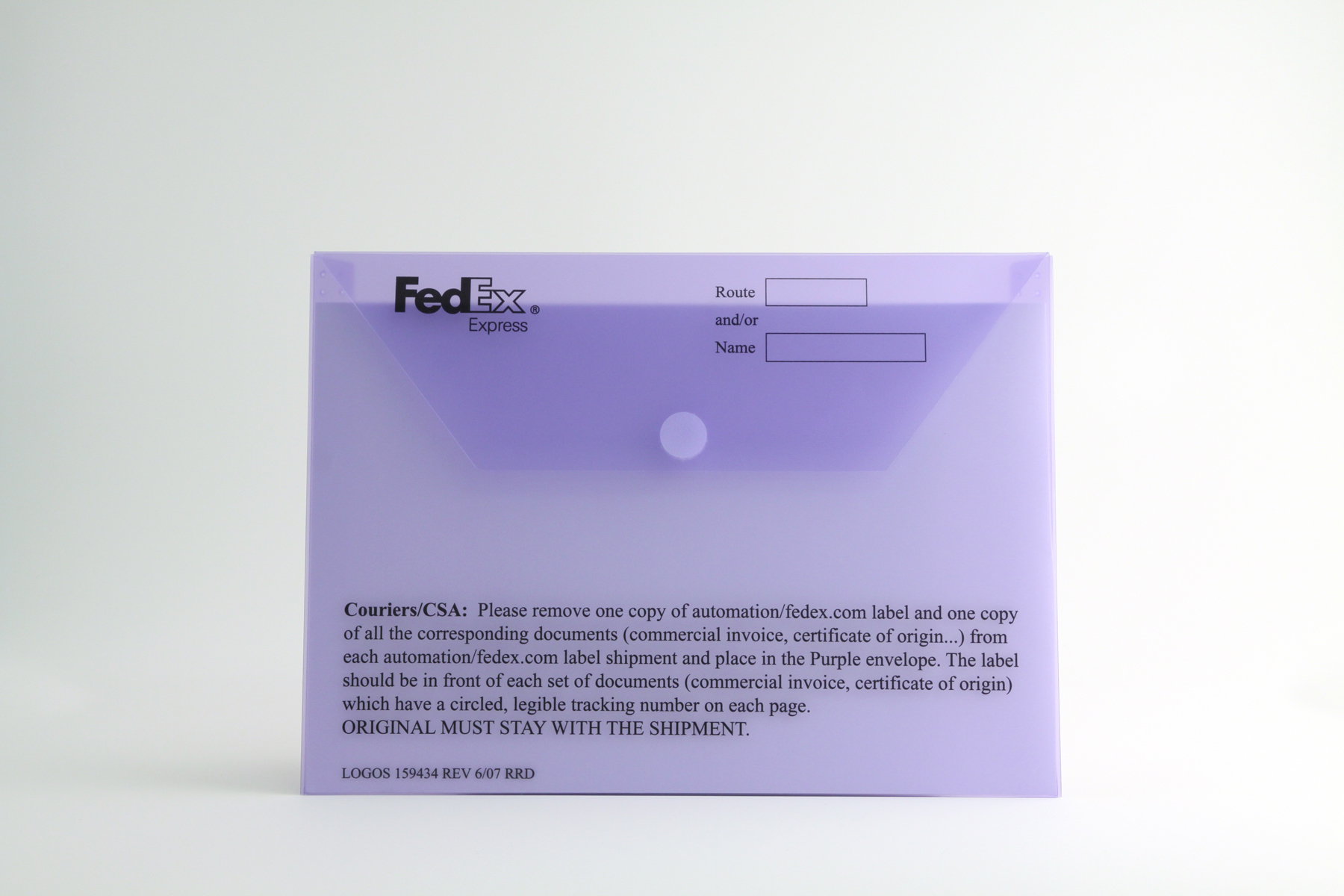 General Office Products     FORMflex Products  015ga Custom Purple Tint M Sm PP Screened 1 0