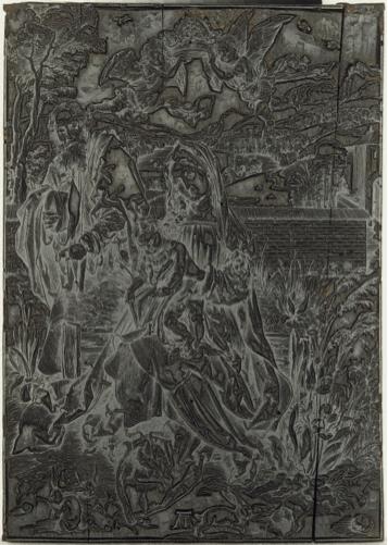 Albrecht Dürer, Holy Family with Three Hares, ca. 1497-98 Princeton University Art Museum