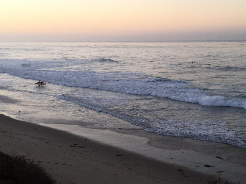 Malibu al amanecer
