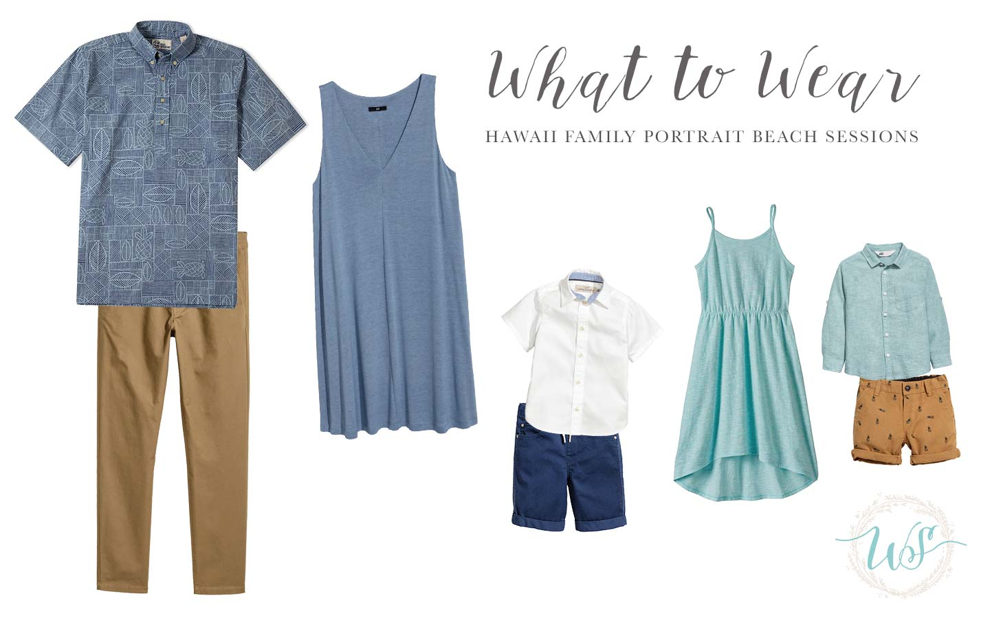 What To Wear For Your Hawaii Family Portrait Beach Session
