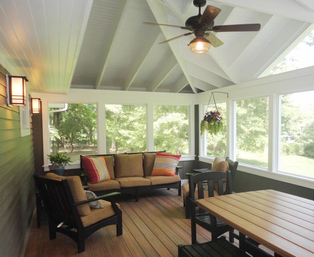 Decks / Patios — A&E Construction on Enclosed Back Deck Ideas id=75942
