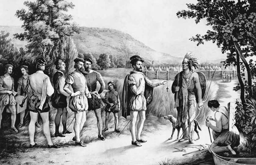 The Dark   Disturbing Tale of Jacques Cartier in Canada     Canadiana
