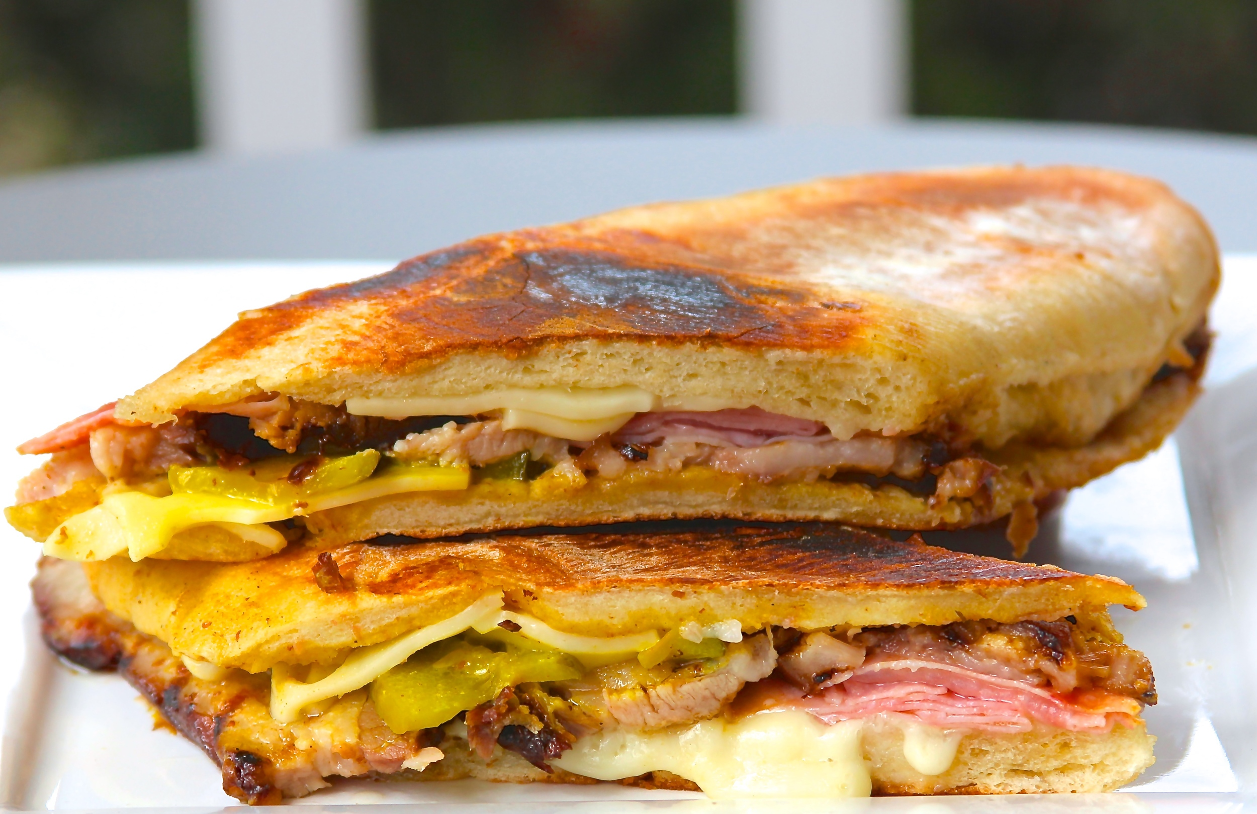 Smoked Pork Belly Cuban Sandwiches Grillocracy