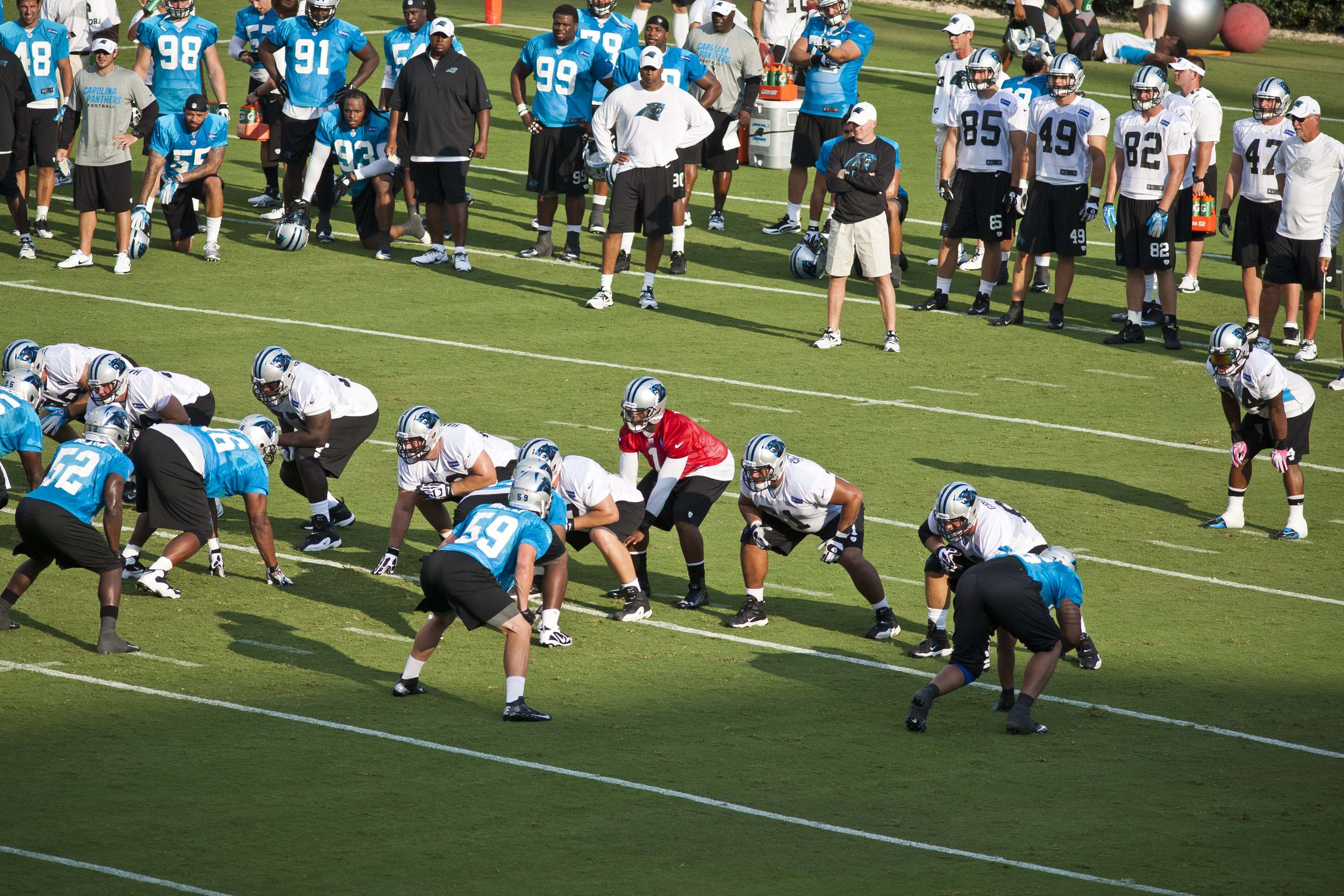 Panthers Training Camp Spartanburg Sports