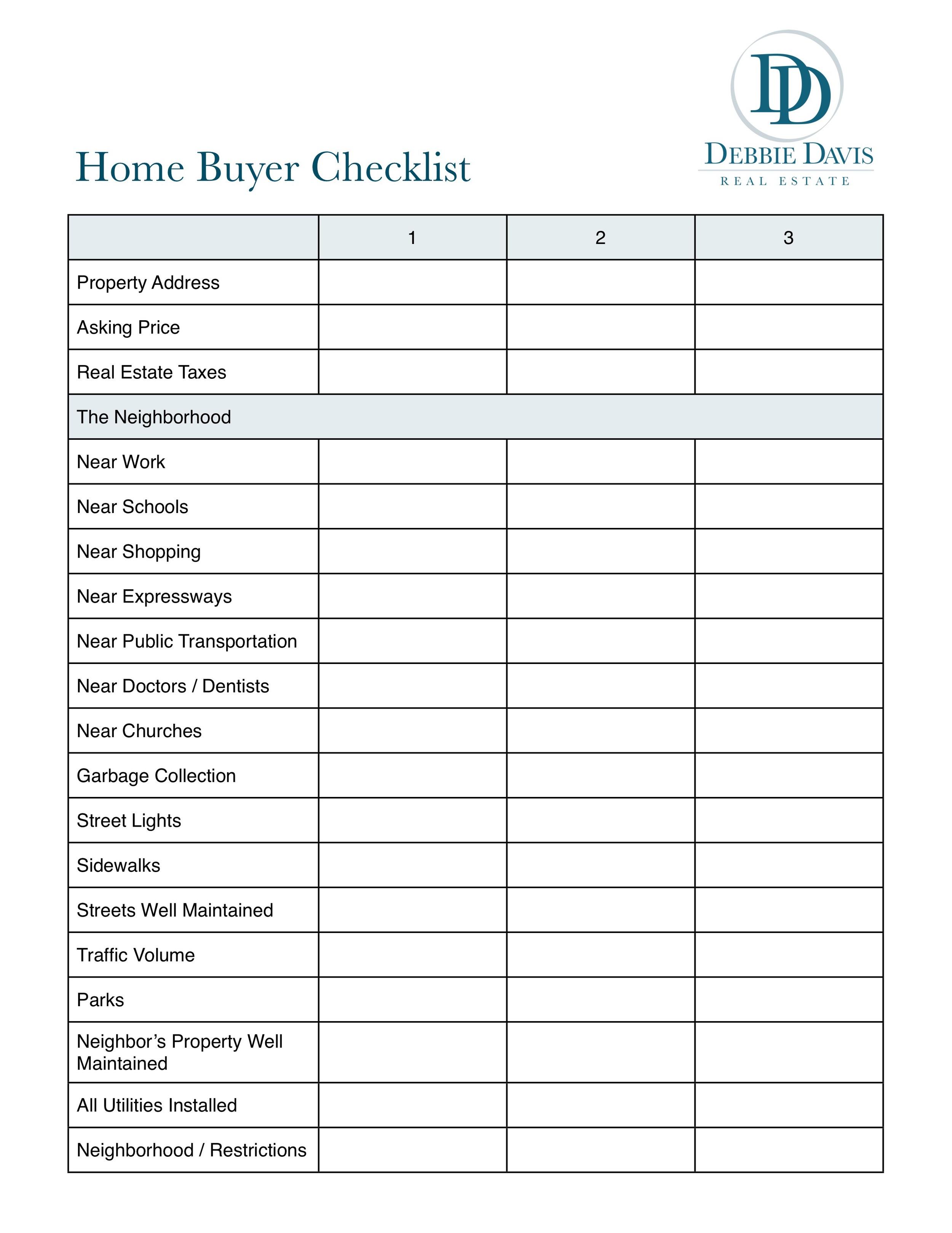 real estate closing checklist template. Black Bedroom Furniture Sets. Home Design Ideas