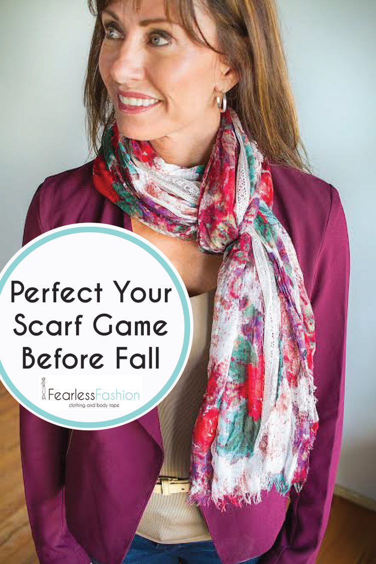 Perfect Your Scarf Game Before Fall   Fearless Fashion Tape   Double     Fearless Fashion tape is a very sticky double sided fashion tape  Because  it s so powerful  yet comes off so easily  it can do jobs other fashion  tapes