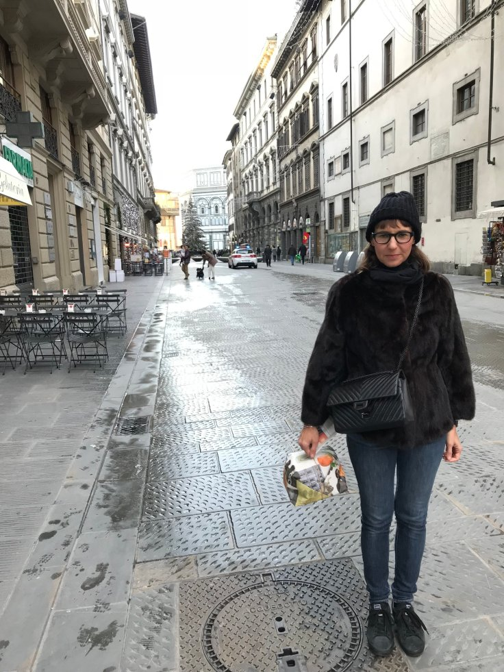 my panettone and I!