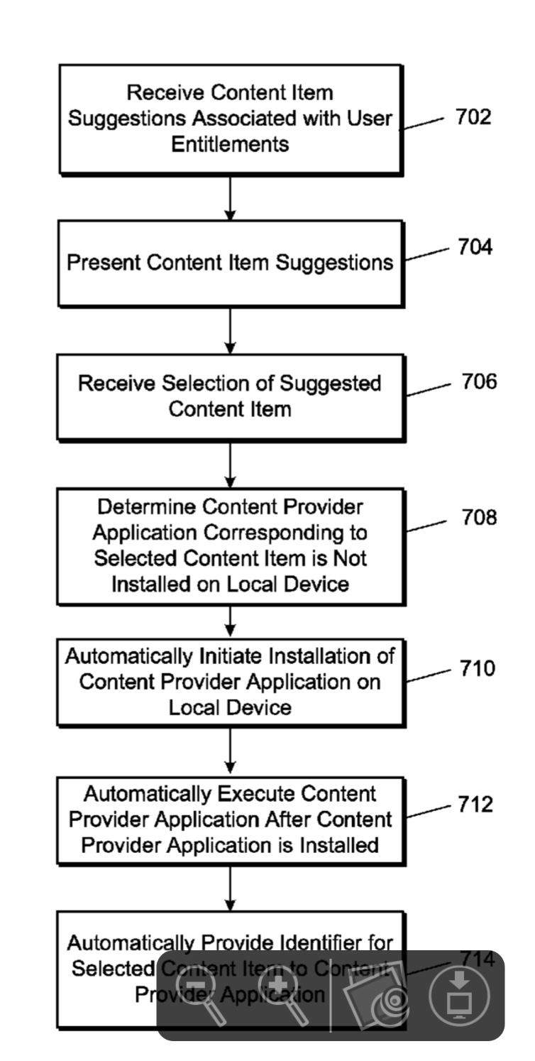 Media+content+patent Apple patent filing involves a streaming method for viewing media content Apple