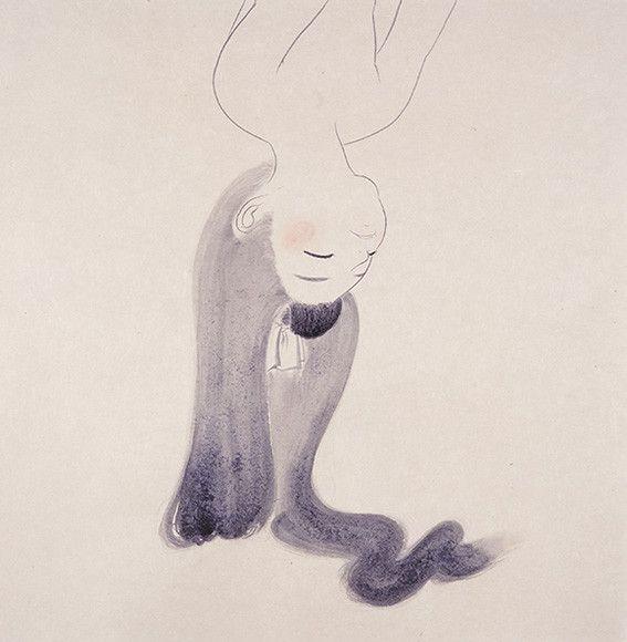 Ai Yamaguchi.Japanese Sketch,Mizuma Art Gallery.