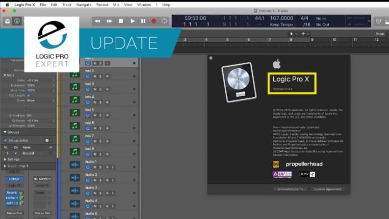 Logic Pro X 10.4.6 is Out   Logic Pro
