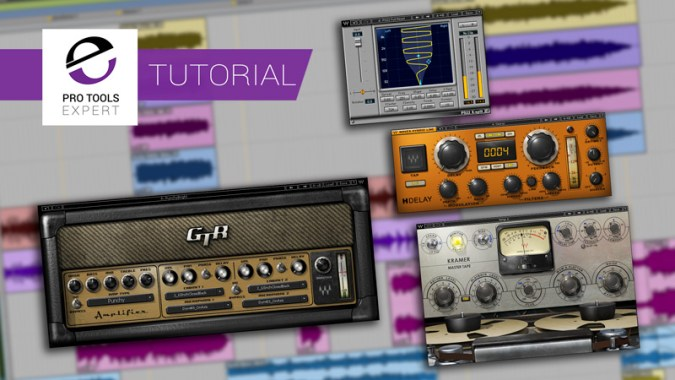 Pro Tools   Mixing A Band Using Waves Plug ins   Quick Mixing Tips     In this free video tutorial series  brought to you with the support of  Waves  we show you how you to mix a live band session using a variety of  plug ins by
