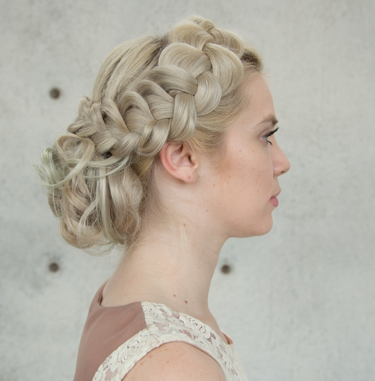 Braided Upstyle Hair Tutorial Confessions Of A Hairstylist