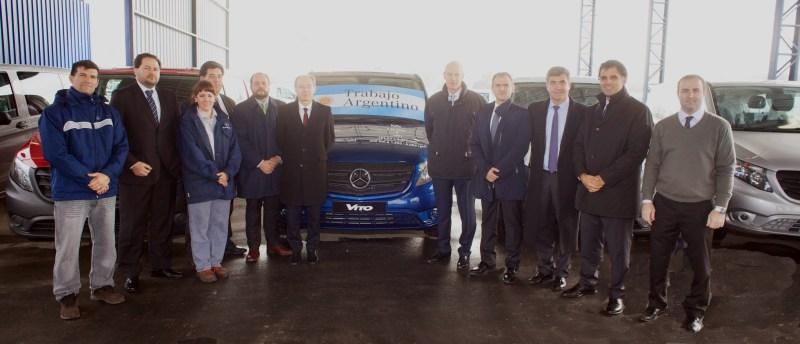 Mercedes-Benz comenzó la producción de la Vito en Virrey del Pino 1