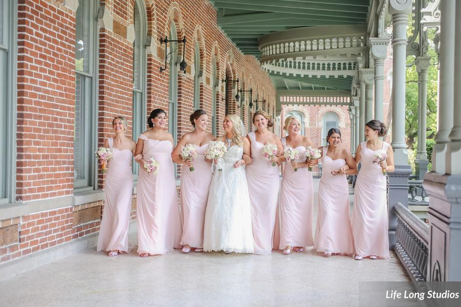 A Blush And Baroque Wedding
