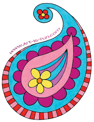 How to Draw Paisley: A Fun Easy Step-by-Step Drawing ...