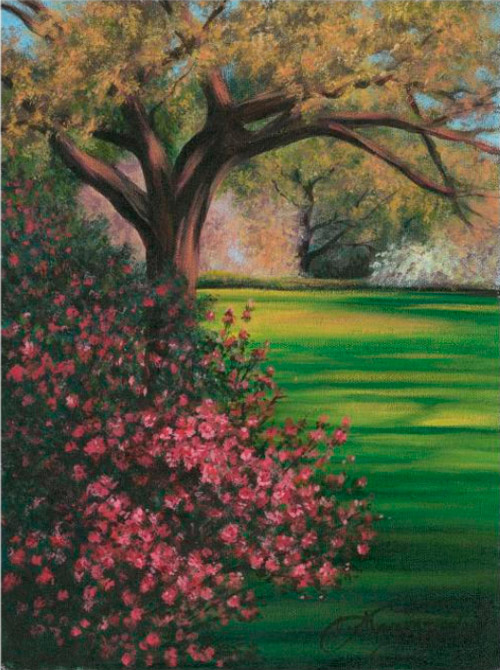 One Of Lee Hammond S Landscape Paintings From Big Book Acrylic Painting