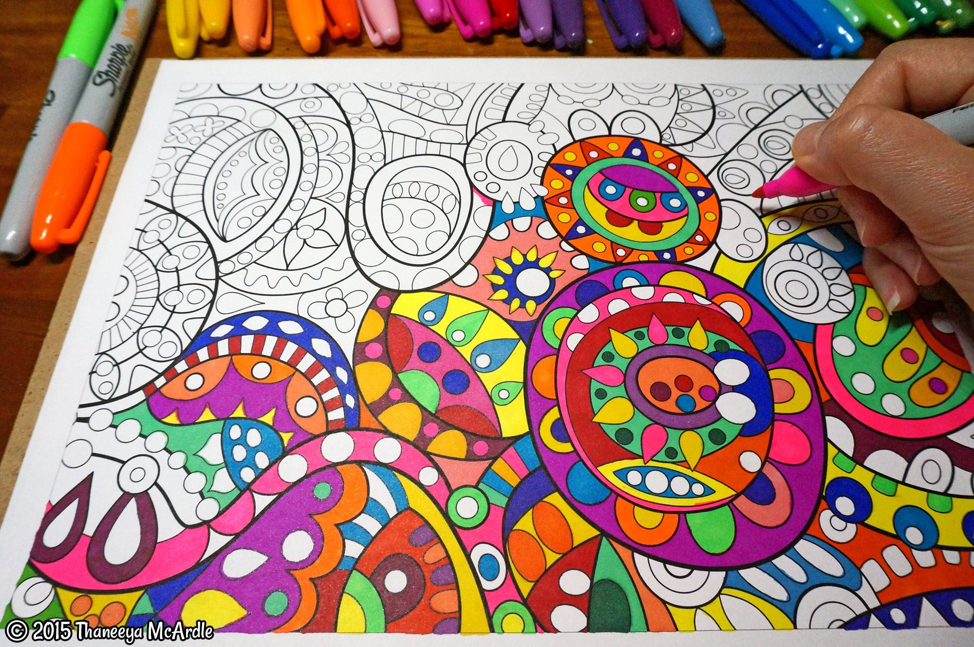Coloring Printable E Books Published Adult Coloring