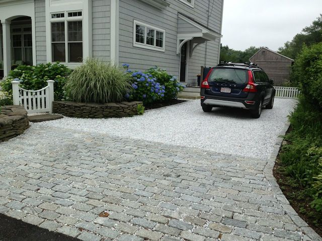 Landscaping Stones White