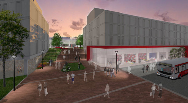 Artist rendering courtesy Rutgers University
