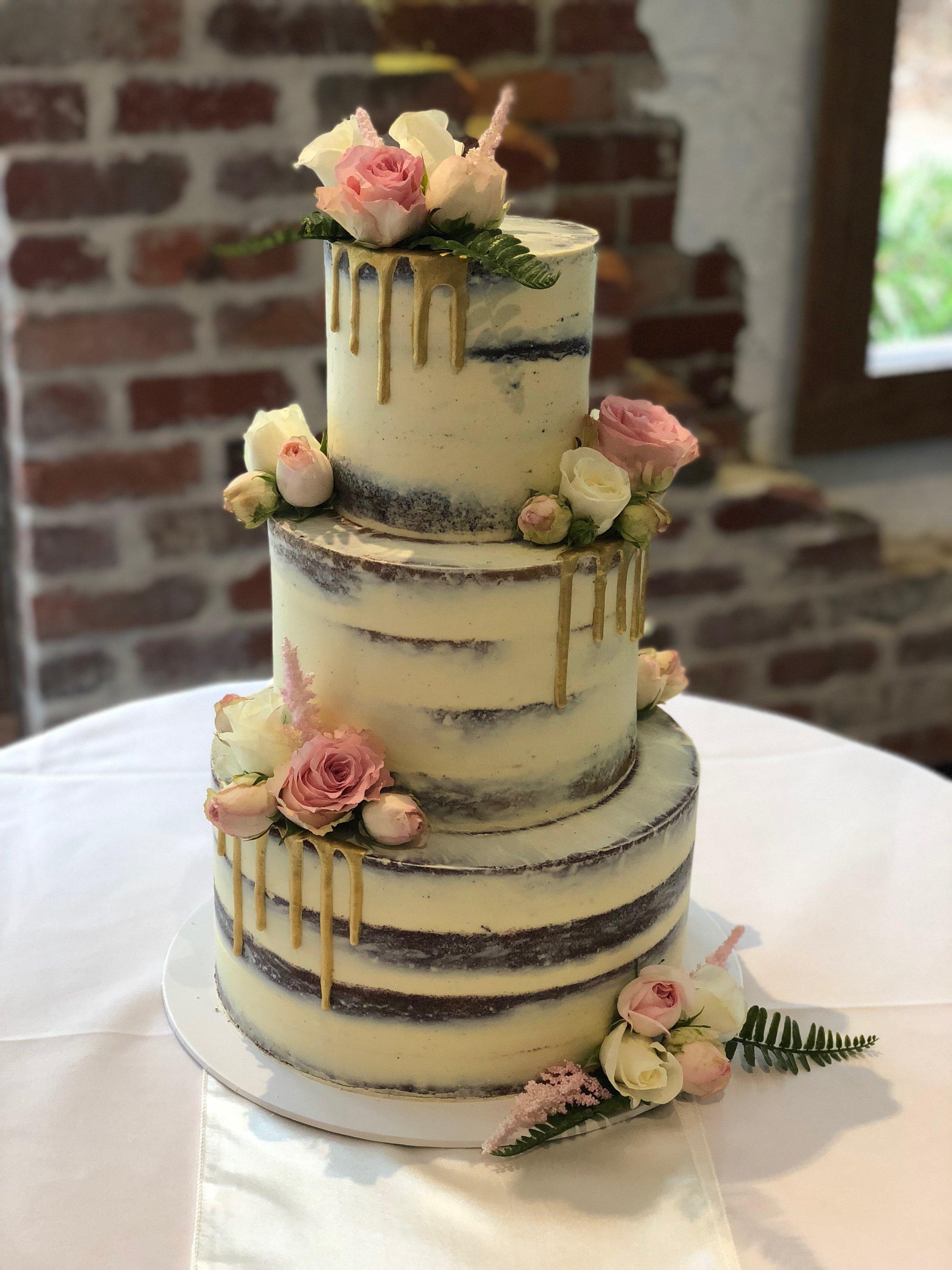 Naked Cake For Wedding 5