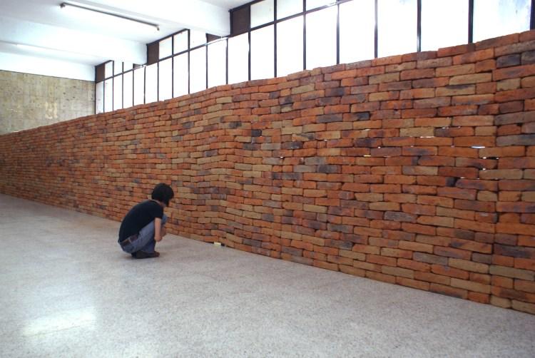 Visão geral do muro