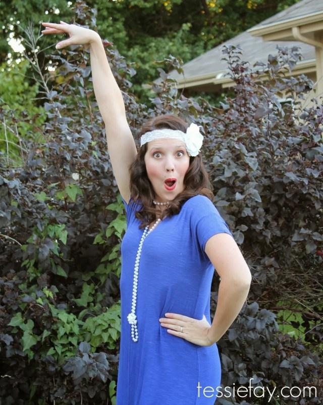 DIY Flapper Costume — Tessie Fay