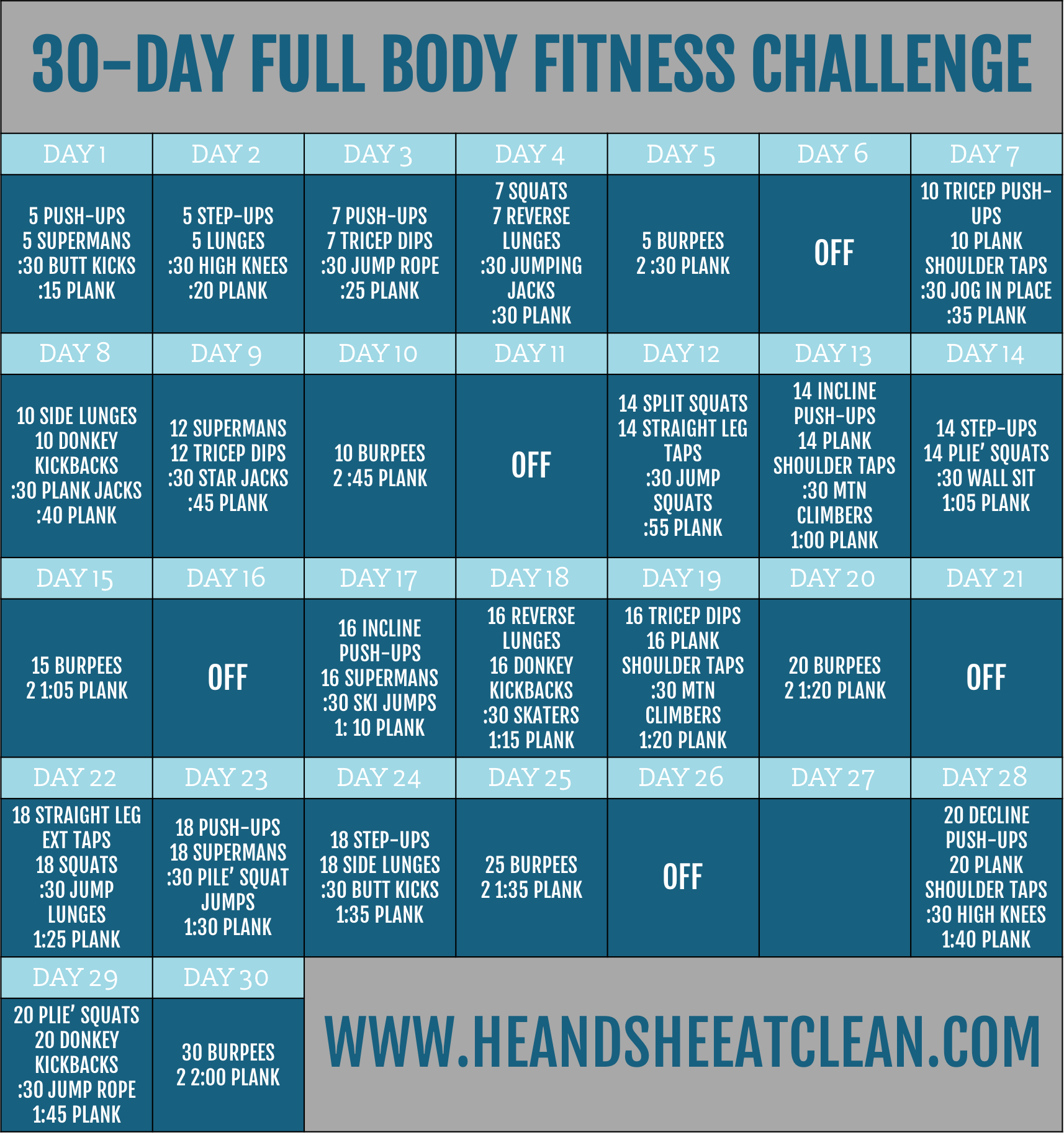 Free Two Week Healthy Living Challenge