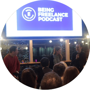 BONUS: Being Freelance Podcast LIVE in Manchester