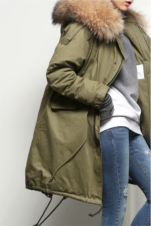 The parka has been around forever but this winter it's hotter than ever, (no pun intended!). Olive and camel tones are the best shades for this trend. Parkas are very