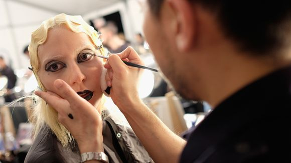 Makeup! (Photo: Dimitrios Kambouris, Getty Images for Marc Jacobs)