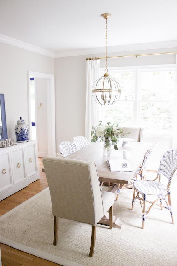 Blue Door Living Dining Room After