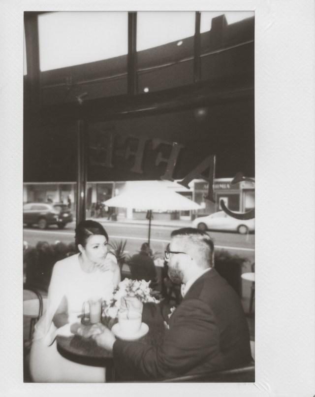 San Francisco elopement polaroid