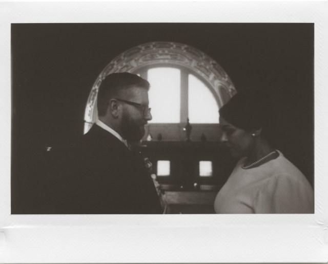 Photographe polaroid de la ville de San Francisco