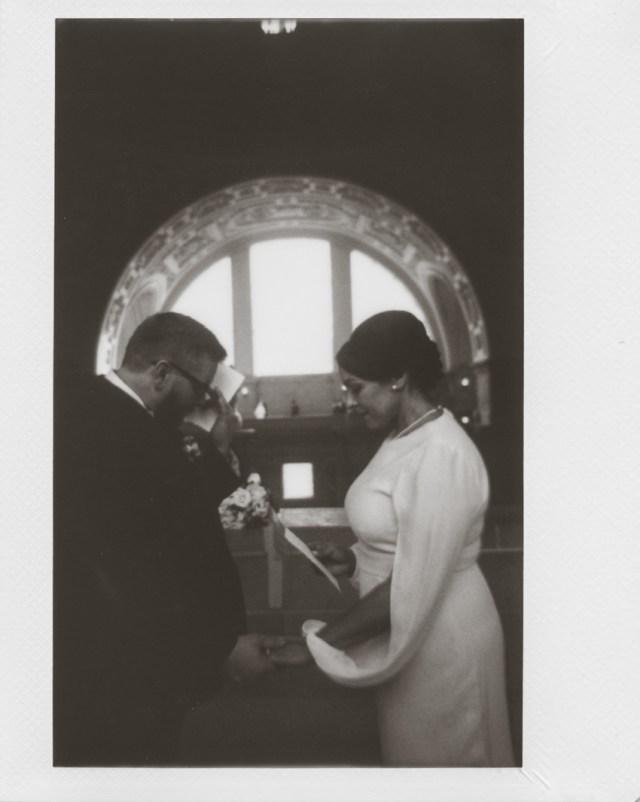 Cérémonie de mariage à l'hôtel de ville de San Francisco