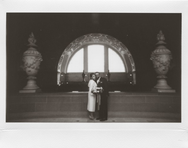 Photographe polaroid au San Francisco