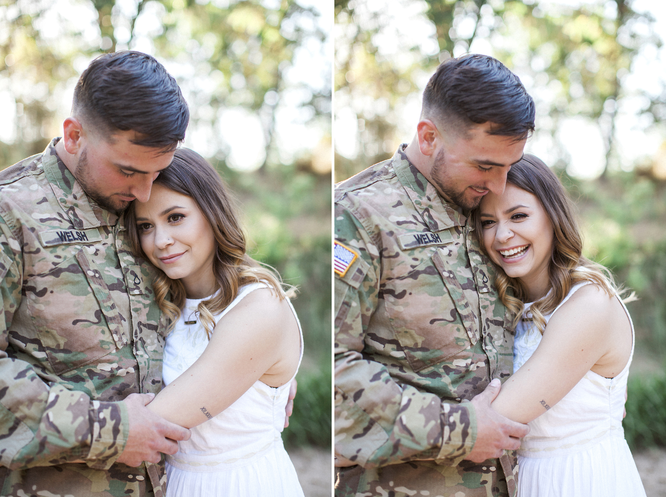 Army love couple