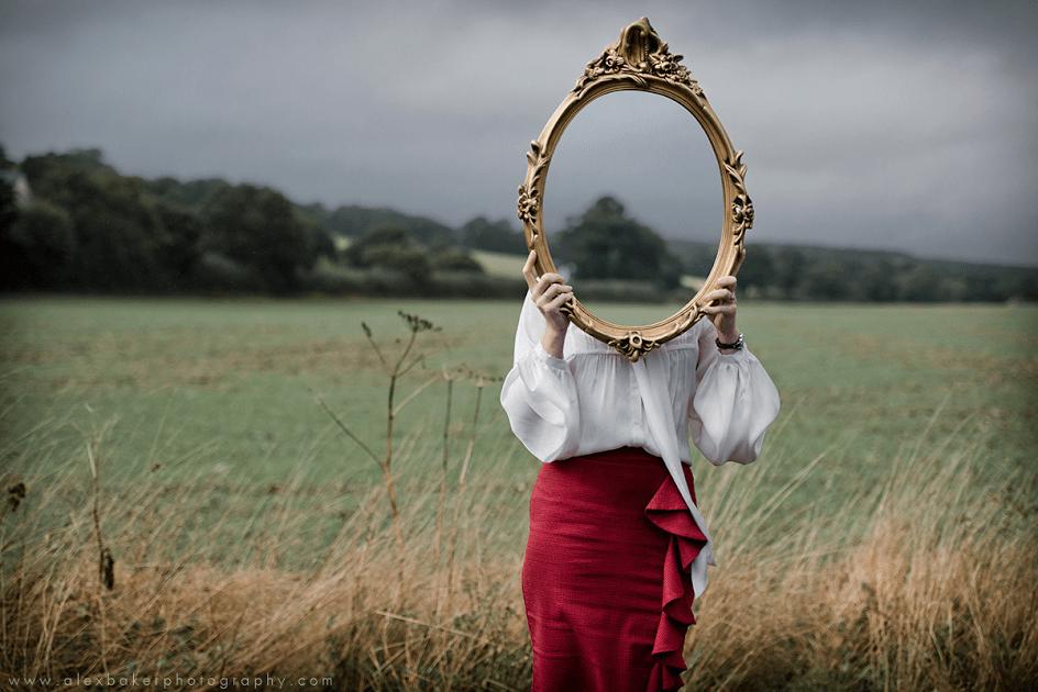 lady mirror