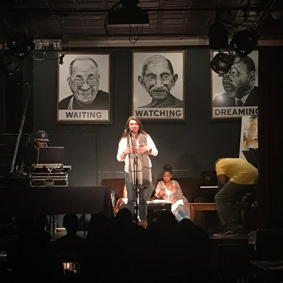 Busboys & Poets Open Mic | Photo Credit: Chad Jimenez