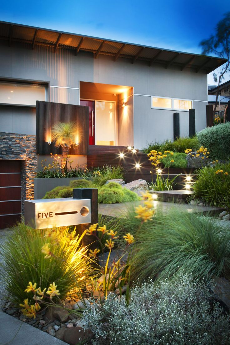 50 Modern Front Yard Designs and Ideas — RenoGuide ... on Backyard Lawn Designs  id=53331