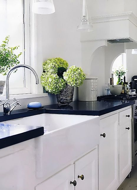 20 Timeless and Beautiful Kitchen Colour Schemes ... on Kitchen Countertop Decor  id=98229