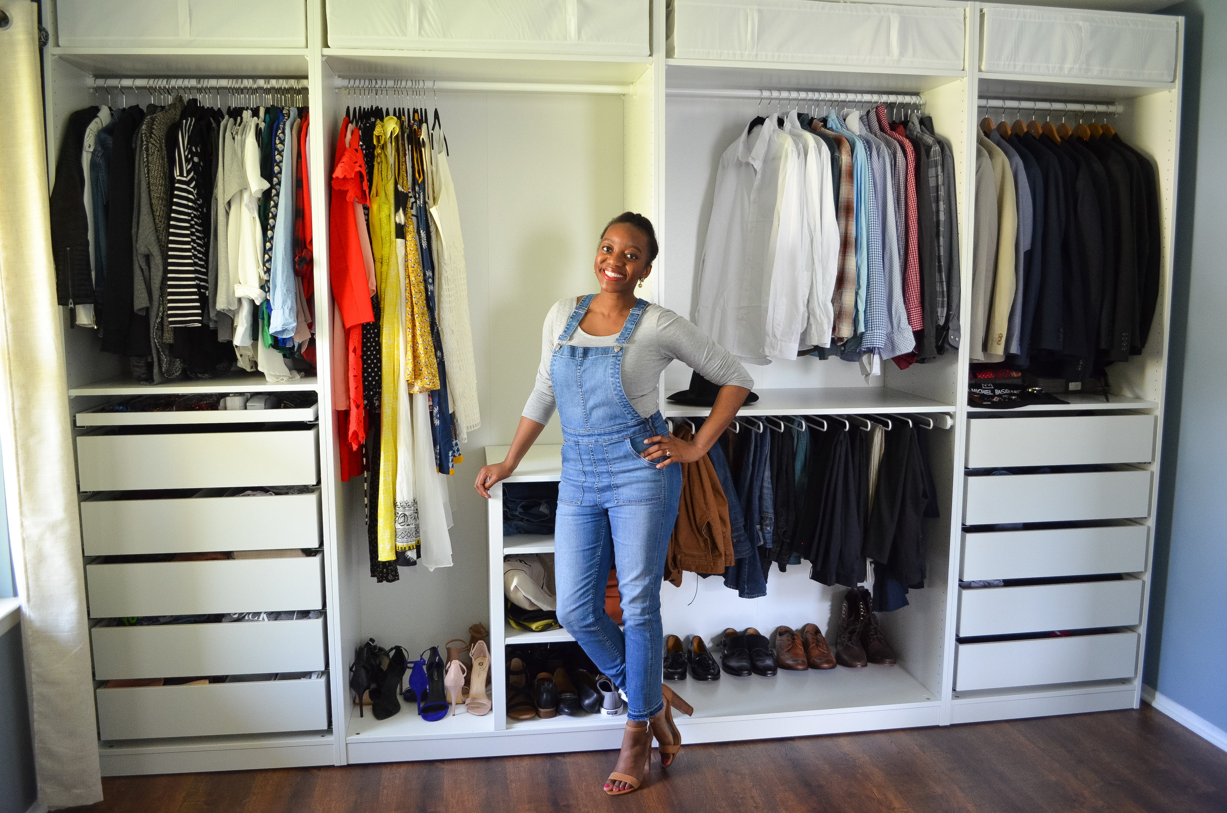 Closet Tour Review Of Ikea Pax System Segilola Ileke