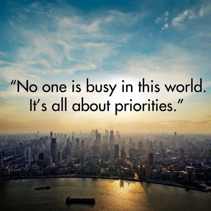 Is anyone truly busy??