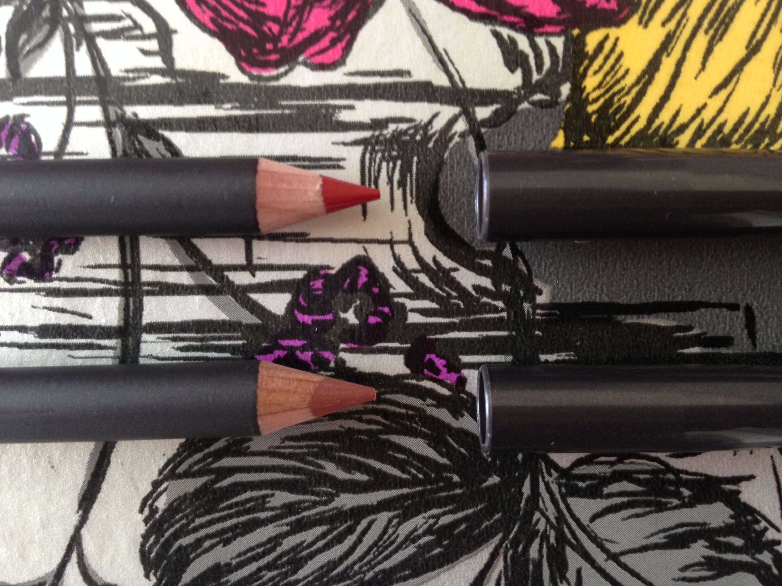 Lip Liners in Cherry and Spice by MAC