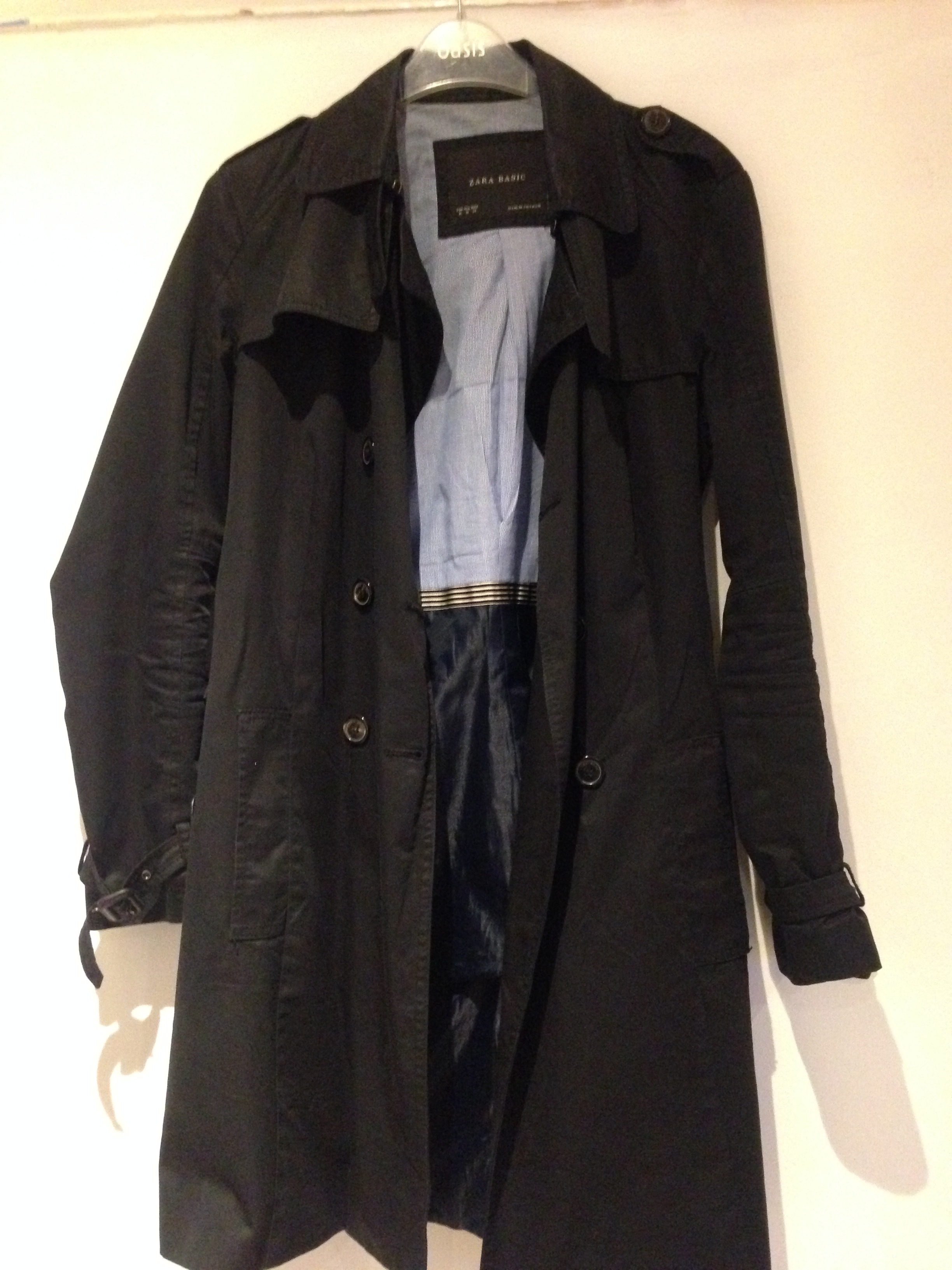 A Zara trench coat I'm also selling
